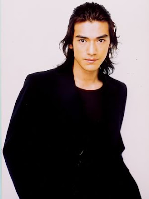 Takeshi Kaneshiro long hairstyle