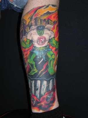 Hulk Tattoo