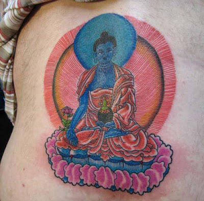 New Buddha Religious Tattoo