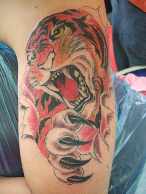 Wild Japanese tattoo