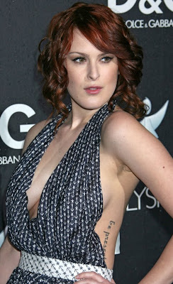 Rumer Willis Tattoos