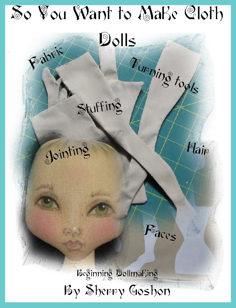 Sherry's Creative Corner: New book for beginning & intermediate doll ...