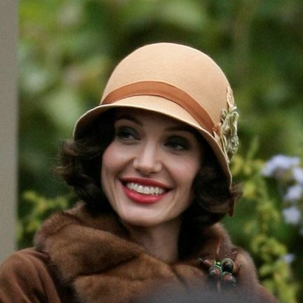 angelina jolie changeling hat. 1920's fashion - Hats worn by