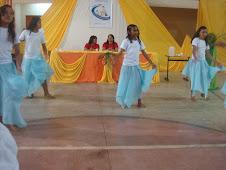 Apresentação de danças folcloricas do Amapá