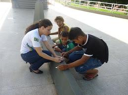 Escola Nazaré Vasconcelos em visita 2010