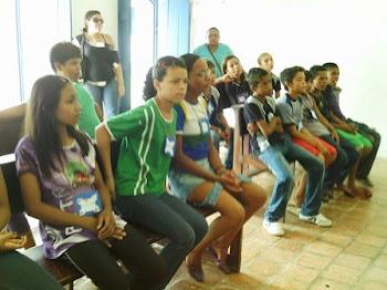 Projeto: FORTALEZA NAS LUZES_Visita a Capela da Fortaleza São José de Macapá