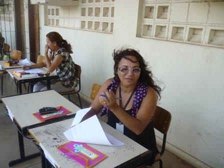 Professorea do ensino especial no Plantão pedagógico 1º bimestre
