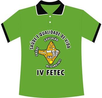 modelo Camisa IV FETEC/2010