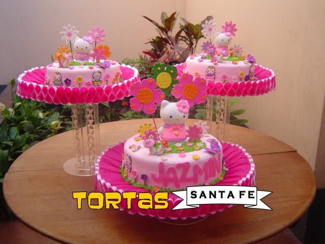 TORTAS INFANTILES o PASTELES DE CUMPLEAÑOS : DECORACION