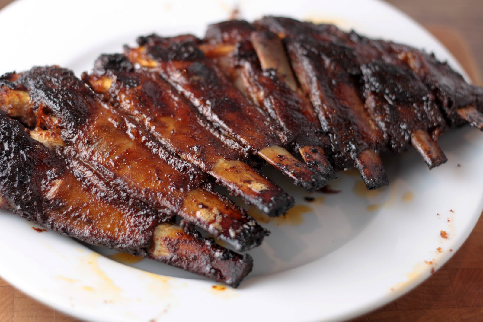the passionfruit*: j-cat cooks: sweet and spicy lamb ribs