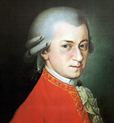 Mozart began his musical