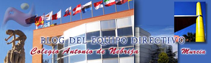 Equipo directivo del Colegio Antonio de Nebrija