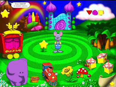 Toddler games - Reader Rabbit Toddler