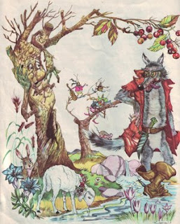 Вълкът и агнето