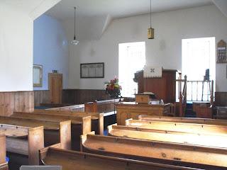 Tongue Church chancel area