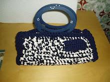 mala de trapilho azul INDESPONIVEL