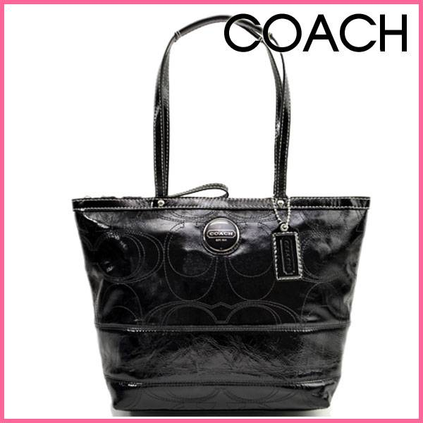 coach patent leather tote. NEW COACH SIGNATURE PATENT
