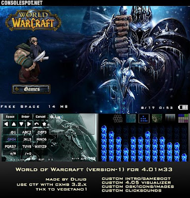 download World of Warcraft Psp theme
