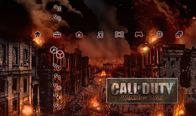 download Call OfDuty World At War Ps3 themes