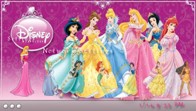 psp themes: Disney Princess for 5.00 M33