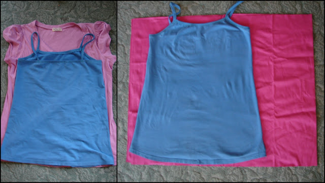 how to make a tank top out of fabric