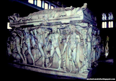 Heracles Tomb @ Konya Museum of Archaeology - ancient-anatolia.blogspot.com