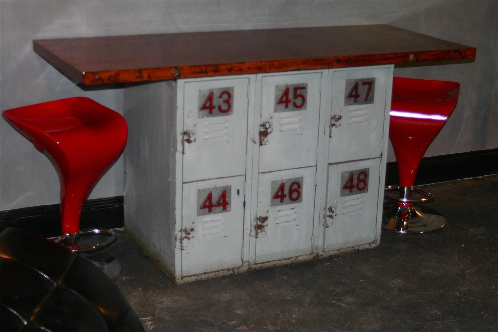 New Home For Locker Table