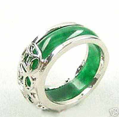 jade gold wedding rings - Jade Wedding Ring