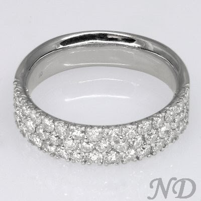 Diamond Wedding Rings Pave Diamond Wedding Rings Luxury