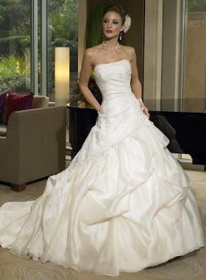 Maggie Sottero Strapless Wedding Dresses