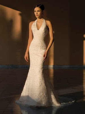 Slim wedding dresses