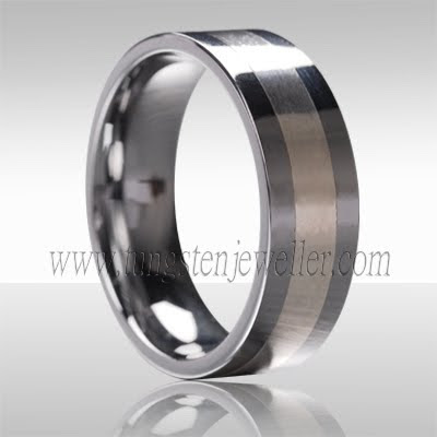 Guys Wedding Rings on Tungsten Platinum Wedding Rings For Men   Miracle Wedding Rings