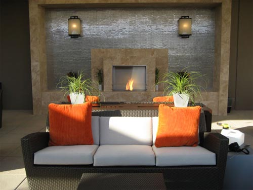 Modern Fireplace Living Room Design : Design Living Room  Living Room Furniture  Living Room Chairs ...