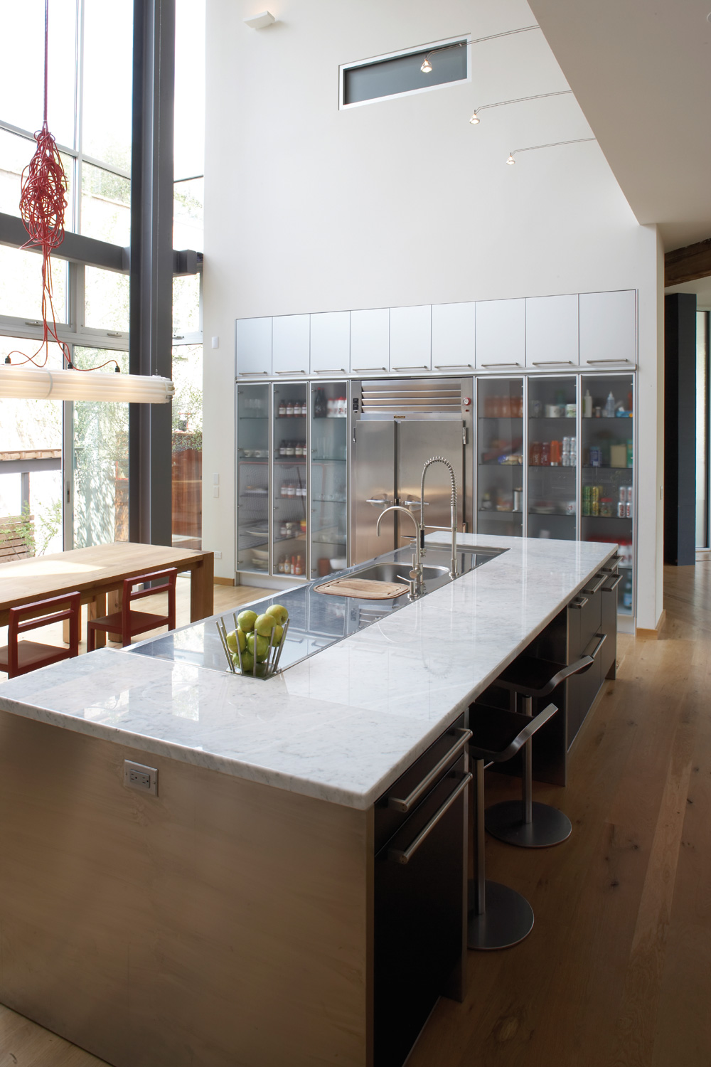 Ecomanta modern kitchen with islands - Arclinea new york ...