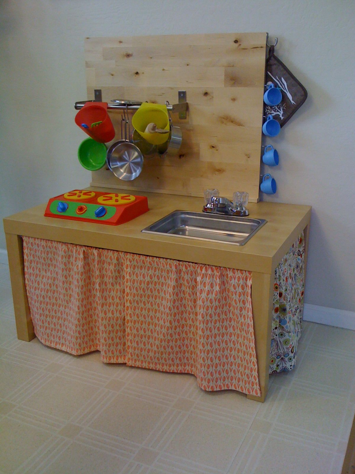 Diy Wooden Play Kitchen my french cuisine: diy play kitchen for hanae and luca