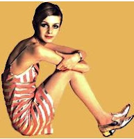 Twiggy in the 60's