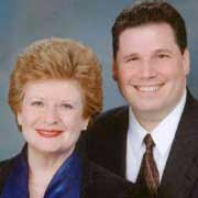 Debbie Stabenow and Thomas Athans
