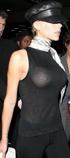 Victoria Beckham's nipples