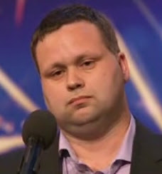 Paul Potts winning Britain's Got Talent