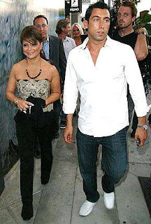 Paula Abdul and J.T. Torregiani