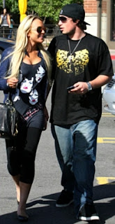 Lindsay Lohan walking with engaged Rley Giles