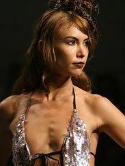 Sarah Larson in Ashley Paige swimwear