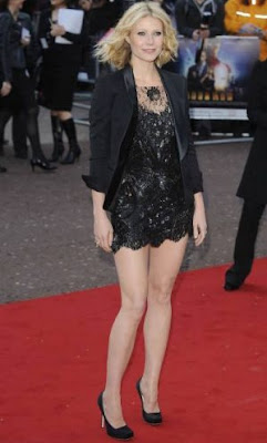 Gwyneth Paltrow high heels