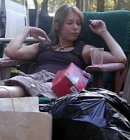 Sarah Larson in 2002