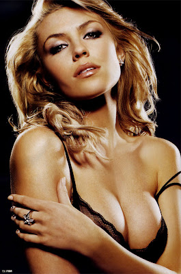 Abbey Clancy cleavage