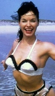 Bettie Page pin up bikini