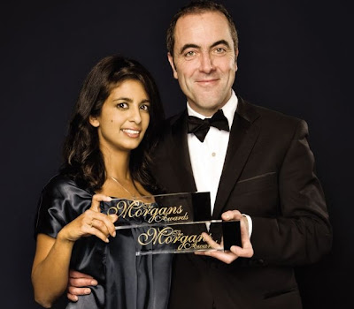 Konnie Huq and James Nesbitt