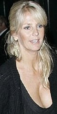 Ulrika Jonsson cleavage for Big brother