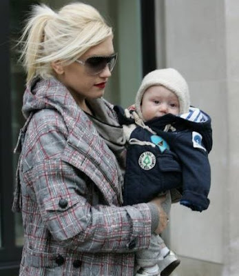 Gwen Stefani and baby Zuma Rossdale