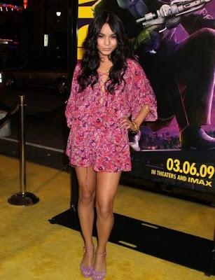 Vanessa Hudgens at Watchmen premiere